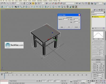 Tutorial Creating a chair object in 3D max part 1 12