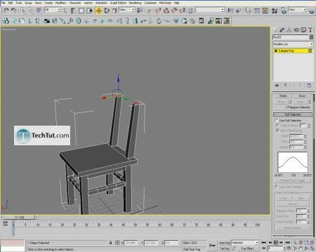Tutorial Creating a chair object in 3D max part 1 15