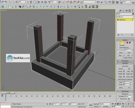 Tutorial Creating a chair object in 3D max part 1 7
