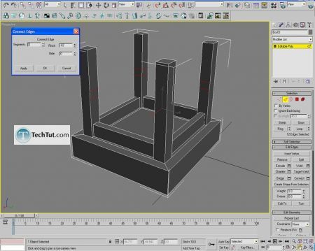Tutorial Creating a chair object in 3D max part 1 8
