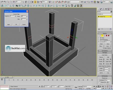 Tutorial Creating a chair object in 3D max part 1 9