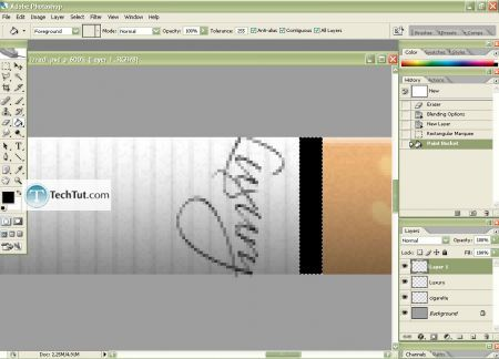 Tutorial Create Cigarrete in Adobe Photoshop part 2