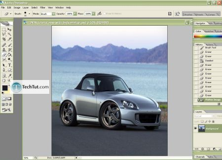 Car Tuning Photoshop Tutorial Mini Photoshop Tutorial