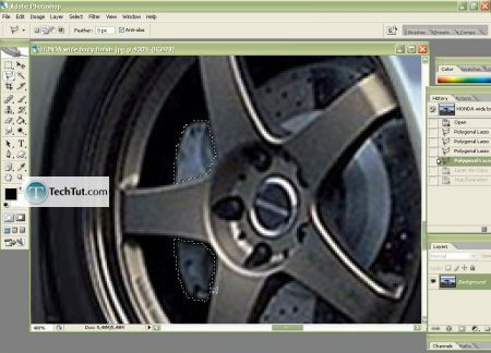 Tutorial Change the color of your car body 3