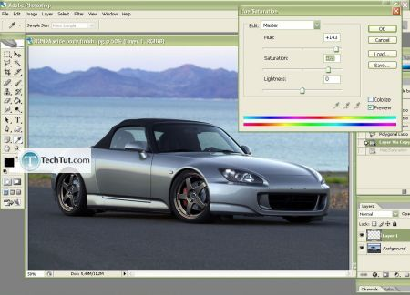 Tutorial Change the color of your car body 4
