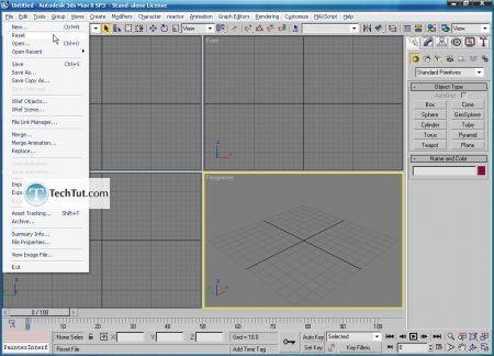 Create apple bowl in 3D max 3D studio max tutorial