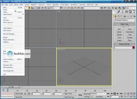 Tutorial Create 3D glasses model in max part 1 2