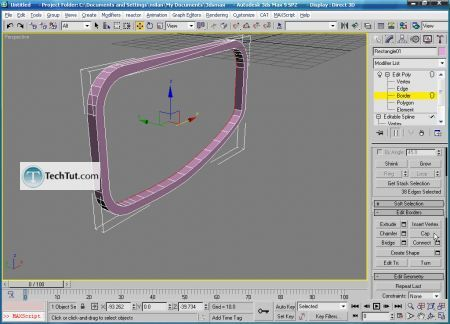Tutorial Create 3D glasses model in max part 1 11