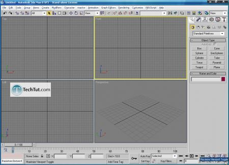 Tutorial Create 3D glasses model in max part 1 4
