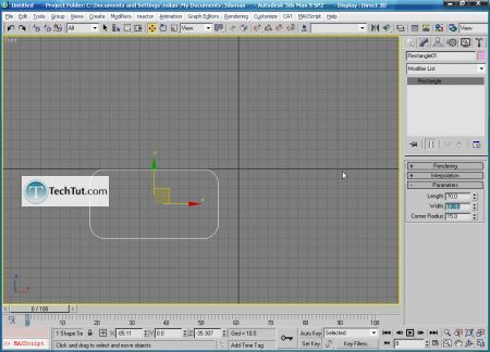 Tutorial Create 3D glasses model in max part 1 5