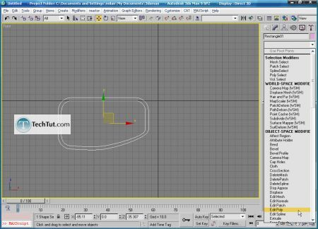Tutorial Create 3D glasses model in max part 1 9
