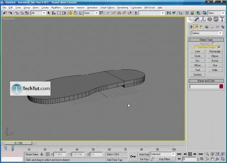 Tutorial How to create a sandal model 13