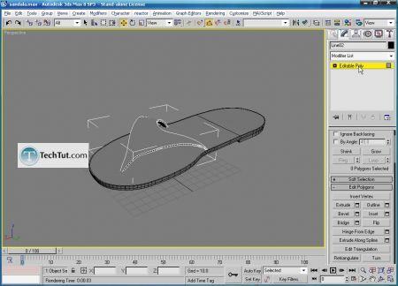 Tutorial Make your sandal model to look real 11