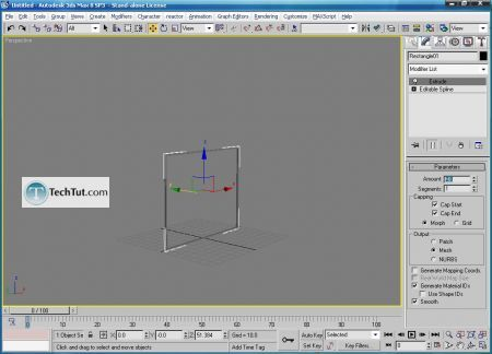 Tutorial Create a modern 3d chair model part 1 9