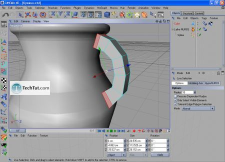 Tutorial Final modeling and rendering 3