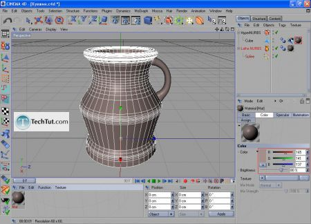Tutorial Final modeling and rendering 8