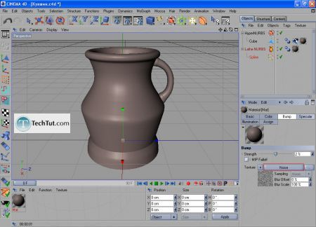 Tutorial Final modeling and rendering 9