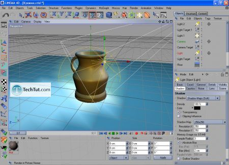 Tutorial Final modeling and rendering 13