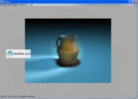 Tutorial Final modeling and rendering 14
