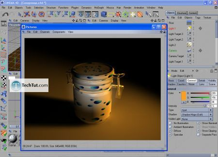 Tutorial Render sugar bowl 6