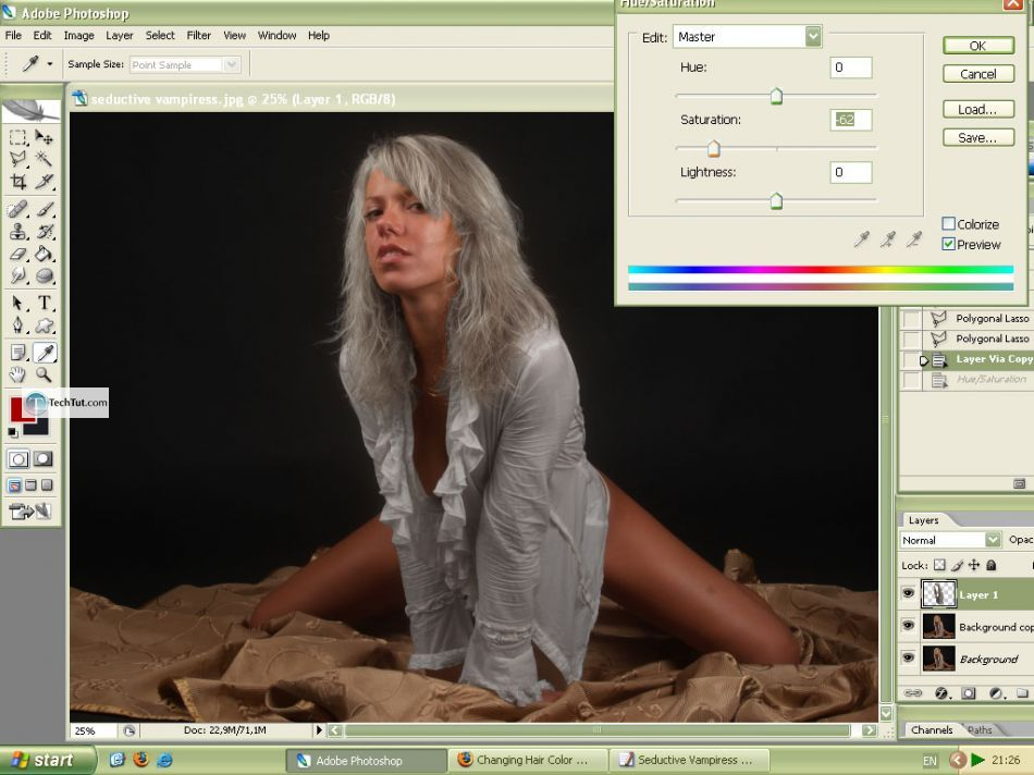 Create Seductive Vampiress in Photoshop