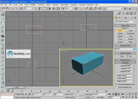 Create low poly house 3D studio max tutorial