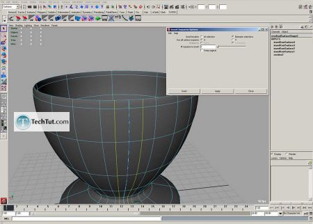 Tutorial Coffee cup model done in Maya part 1 7